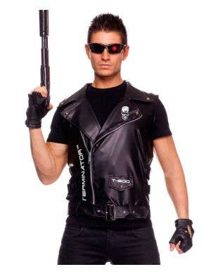 The Terminator Men's Vest Costume