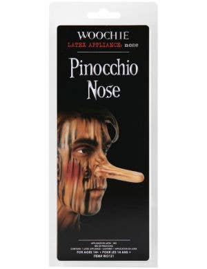 Long Pinocchio Nose Prosthetic Special FX Accessory