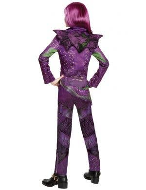 Disney Descendants 2 Girl's Deluxe Mal Fancy Dress Costume