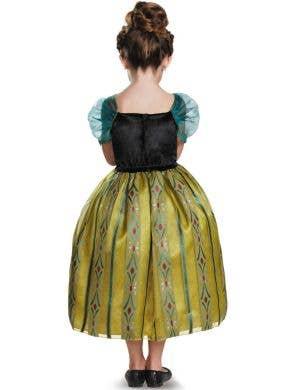 Coronation Anna Girls Deluxe Frozen Disney Costume