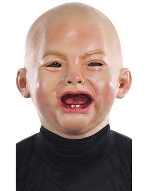 Crying Baby Adult's Latex Mask Costume Accessory