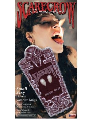 Scarecrow Small Sexy Deluxe Custom Fit Vampire Fangs