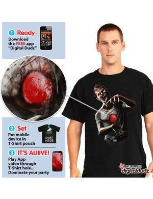 Digital Dudz - Beating Heart Zombie Shirt