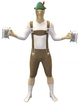 Oktoberfest Lederhosen Men's Morphsuit Costume