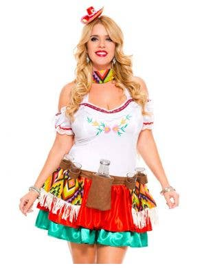 Tequila Princess Sexy Mexican Plus Size Costume