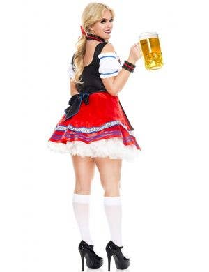 Oktoberfest Beer Babe Plus Size Sexy Women's Costume