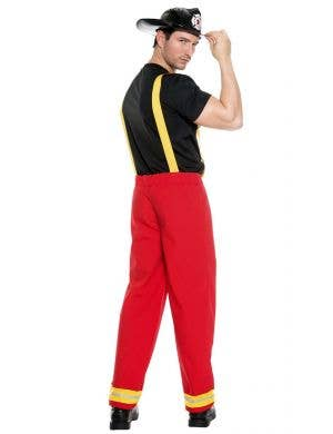 Firefighter Hero Deluxe Men's Fireman Costume