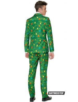 Suitmeister Men's Green Christmas Tree Suit