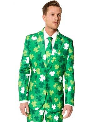 Suitmeister Men's Green St Patricks Day Clovers Suit