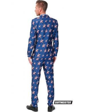 Suitmeister Stars and Stripes Novelty Men's Oppo Suit