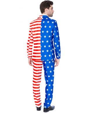 Suitmeister USA Flag Novelty Men's Oppo Suit