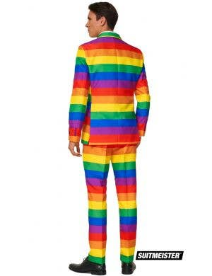 Suitmeister Rainbow Stripe Men's Novelty Suit