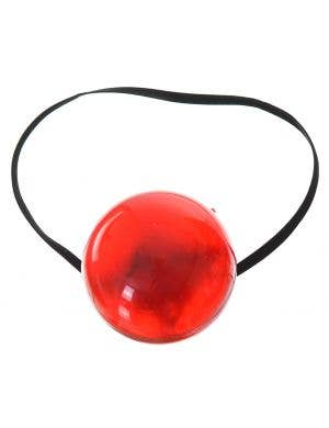Light Up Flashing Clown Nose Costume Accessory