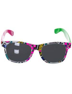 1980'S Retro Party Adults Glasses Costume Accessory