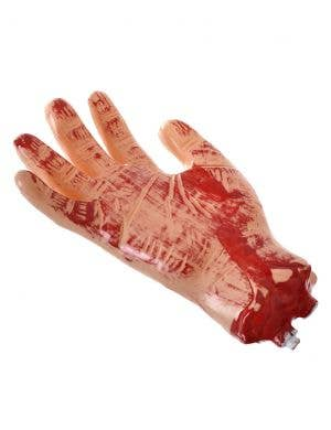 Bloody Severed Hand Halloween Haunted House Prop