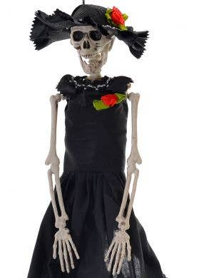 Day of the Dead Señorita 40cm Skeleton Halloween Decoration