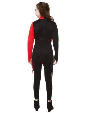 Zombie Harlequin Girl's Halloween Costume