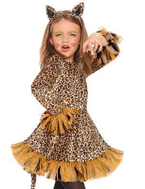 Adorable Little Leopard Girls Fancy Dress Costume