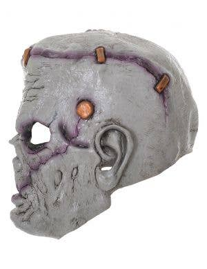 Frankenstein Grey Deluxe Rubber Full Head Halloween Mask
