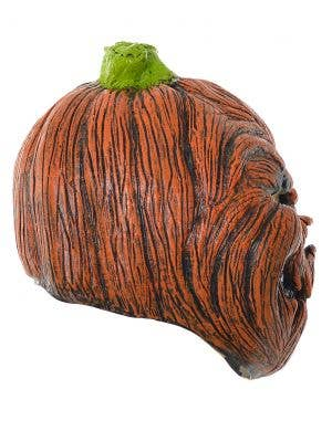 Evil Pumpkin Full Head  Scary Deluxe Halloween Mask