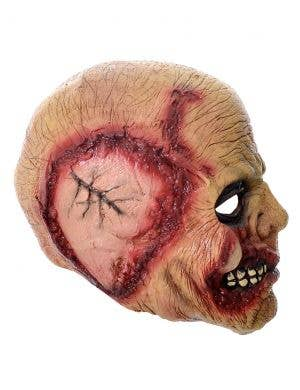 Decaying Zombie  Deluxe Full Head Scary Halloween Mask