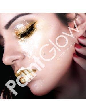 Glitter Me Up Lipstick - Fuchsia