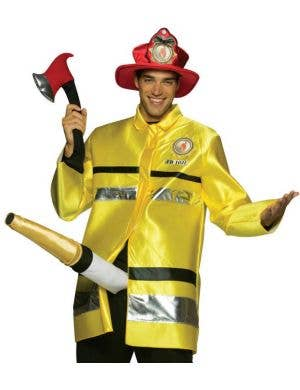 Fire Extinguisher Men's Fancy Dress Costume