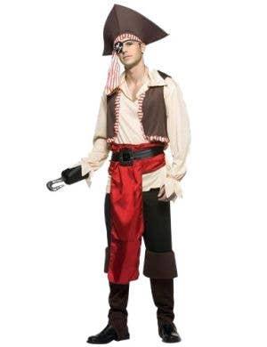 Jolly Roger Men's Novelty Pirate Costume