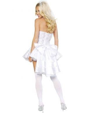 Fantasy Bride Deluxe White Wedding Women's Costume