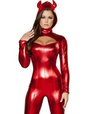 Daring Devil Red Women's Halloween Costume