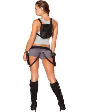 Treasure Huntress Sexy Woman's Lara Croft Costume