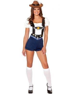 Bodacious Beer Babe Women's Oktoberfest Costume