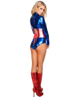 3f819340f9 ... All American Temptress Women s Sexy Hero Costume