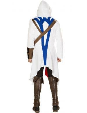 Assassin Warrior Men's Hooded Costume
