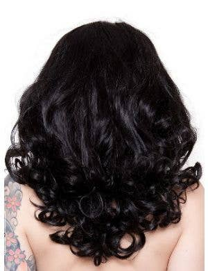 Bang Bang Black Widow Women's Deluxe Curly Wig