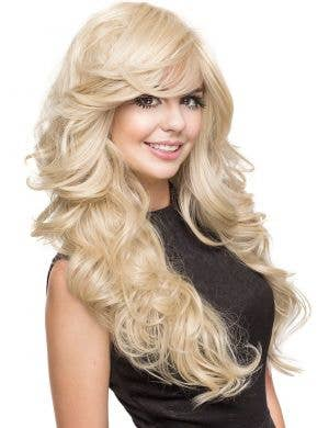 Farrah Blonde Bombshell Women's Deluxe Fashion Wig