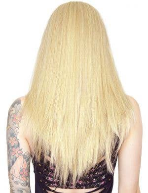 "Premium Lace Front Long Straight 42"" Women's Wig - Light Blonde Mix"