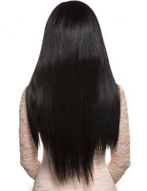 Deluxe Women's Heat Resistant Long Black Bella Wig