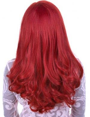 Henna Red Premium Lace Front Women's Curly Wig
