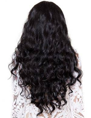 Classic Long Wavy Women's Black Fashion Wig
