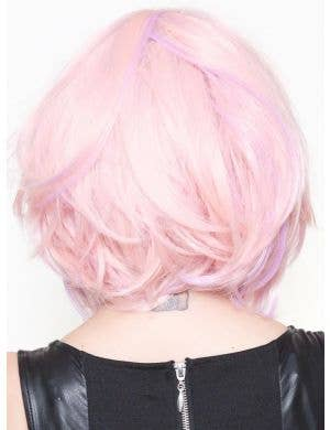 "Powder Pink 12"" Women's Deluxe Bob Fashion Wig"