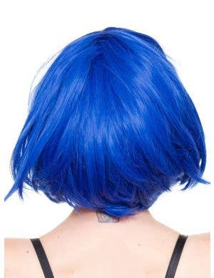 Hologram Royal Blue Women's Deluxe Bob Wig