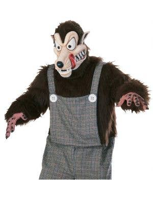 Bad News Wolfie Men's Fancy Dress Costume