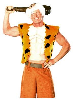 Flintstones - Bamm-Bamm Men's Muscle Chest Costume