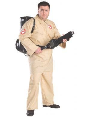 Ghostbusters Mens Plus Size Fancy Dress Costume