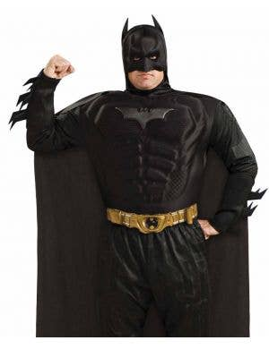 Dark Knight Batman Plus Size Muscle Chest Costume