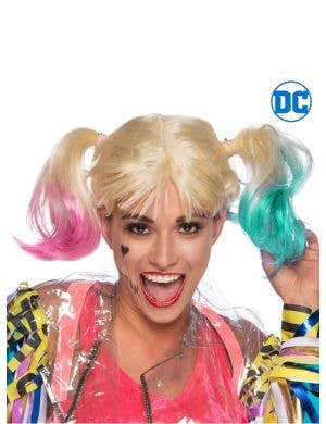 Birds of Prey Harley Quinn Women's Blonde Costume Wig