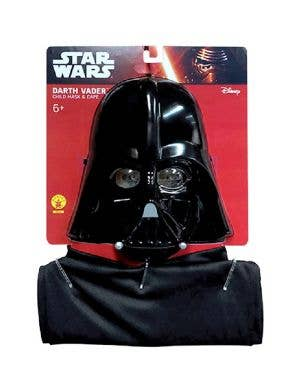 Star Wars Children's Darth Vader Mask And Cape Accessory Kit