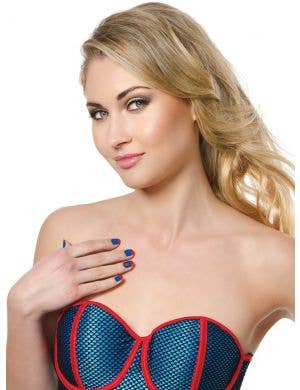 Officially Licensed Women's Supergirl Accessory Kit