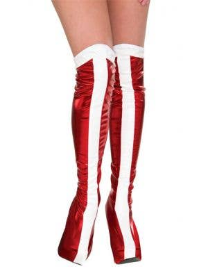Wonder Woman DC Comics Boot Tops Costume Accessories